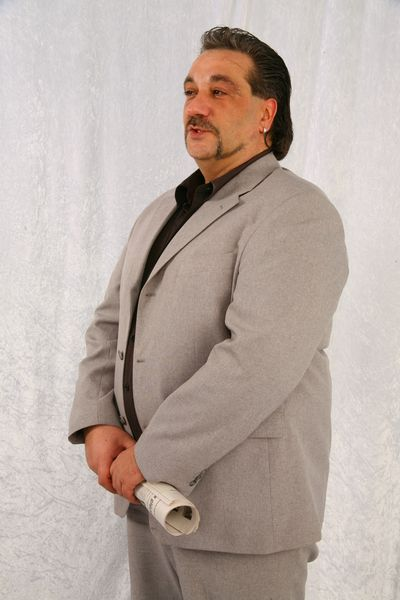 Robby Anzug Grau 1